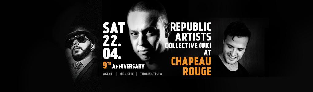 REPUBLIC ARTISTS V CHAPEAU ROUGE