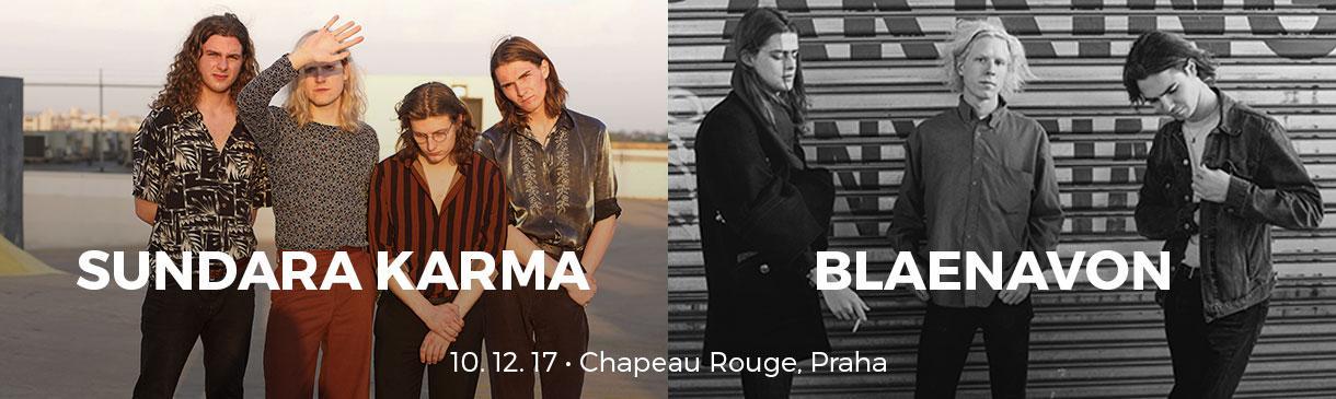 Sundara Karma a Blaenavon v Chapeau Rouge