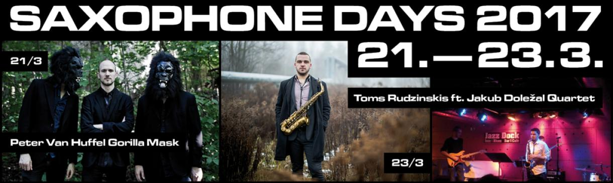 SAXOPHONE DAYS 2017 V JAZZ DOCKU