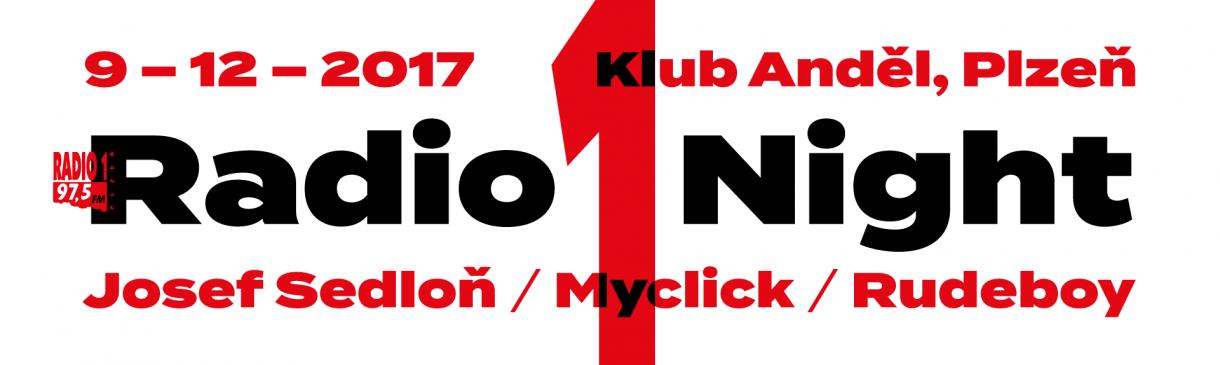 RADIO 1 NIGHT V PLZNI