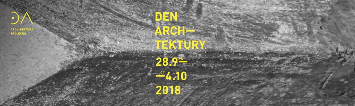 DEN ARCHITEKTURY V 90 MĚSTECH