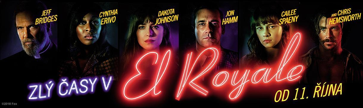 Zlý časy v El Royale v kinech