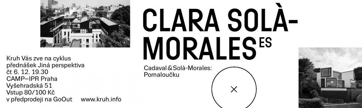 KRUH PŘEDSTAVÍ Cadaval&Solà-Morales