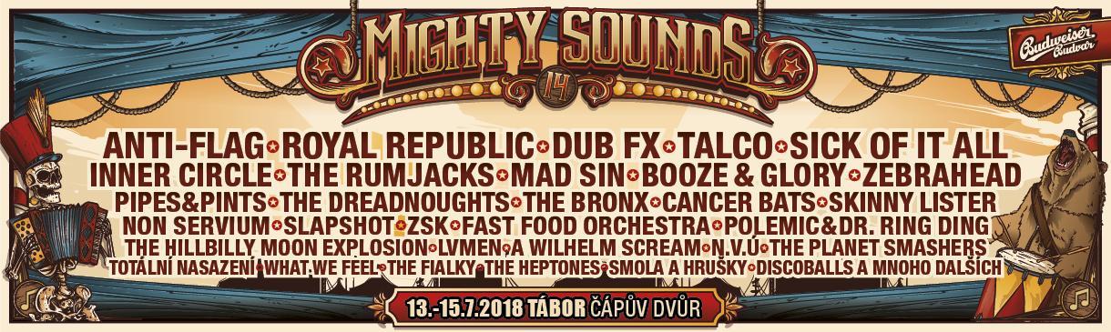MIGHTY SOUNDS - JIŽ 14. ROČNÍK!