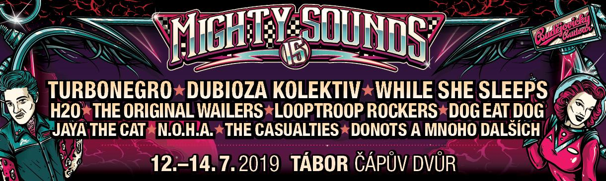 MIGHTY SOUNDS OSLAVÍ 15 LET