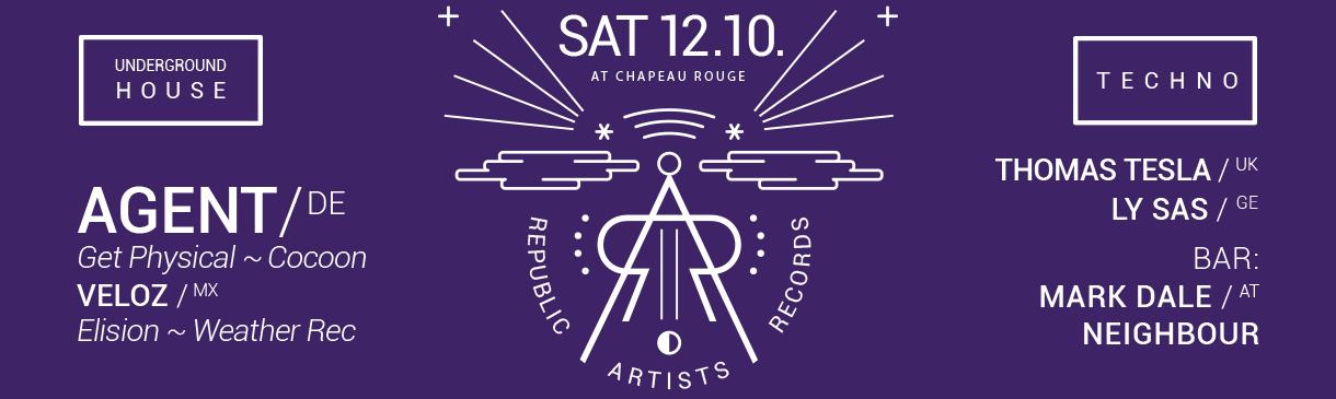 Republic Artists v Chapeau Rouge!