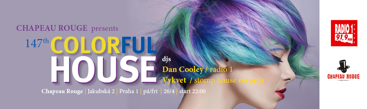 COLORFUL HOUSE MUSIC 147th