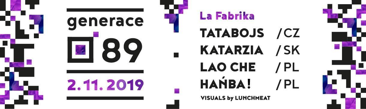 Koncert GENERACE 89 v LA Fabrice