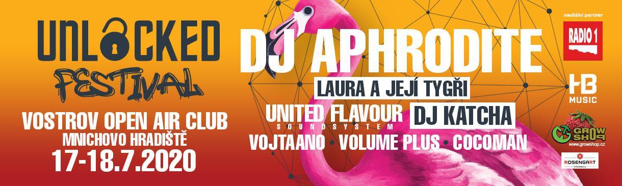 DJ APHRODITE NA UNLOCKED FESTIVALU