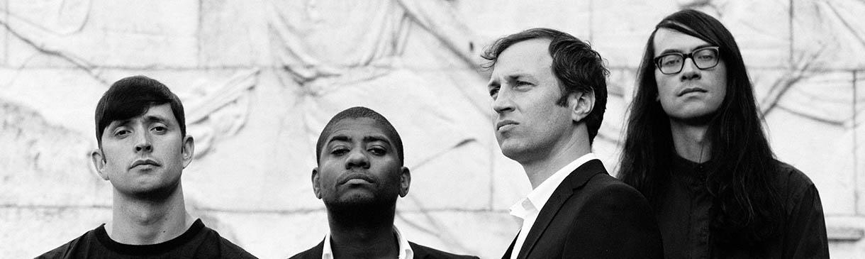 Algiers v Lucerna Music Baru