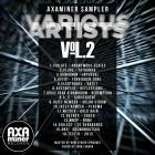 CD Cover - VARIOUS - AXAMINER SAMPLER VOL.2